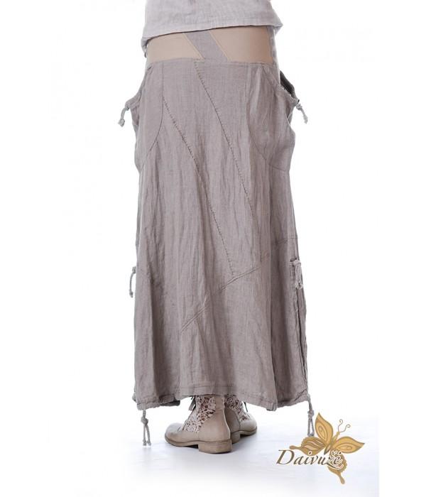 Lininis sijonas Z10-2