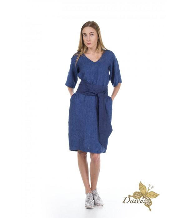 Lininė suknelė Z38-1