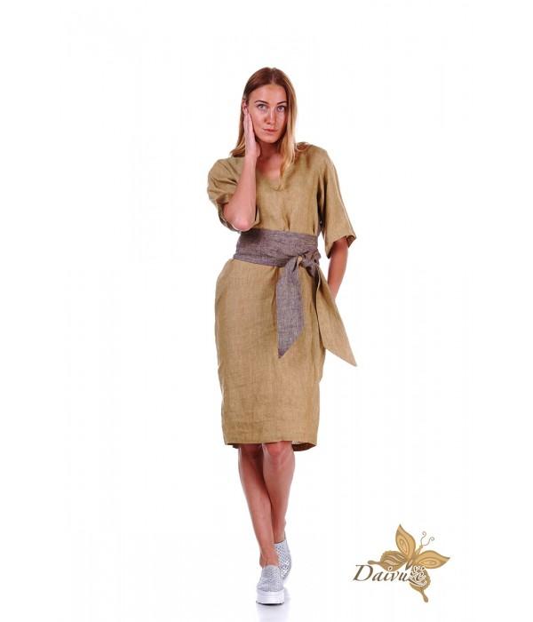 Lininė suknelė Z38-2