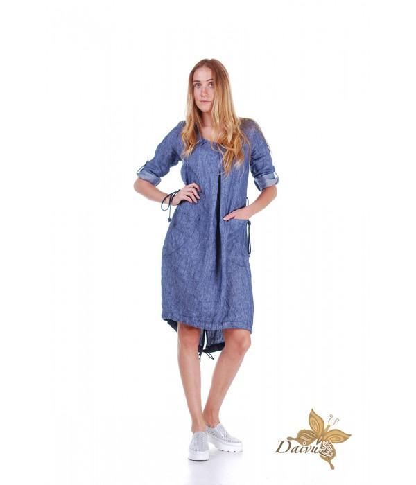 Lininė suknelė ZL39-1