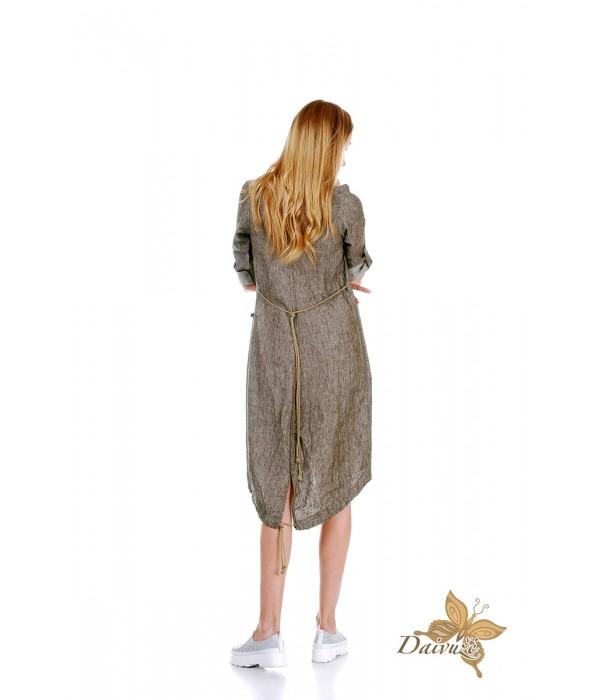 Lininė suknelė ZL39-2