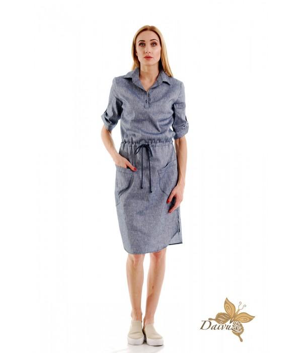 Lininė suknelė DM149