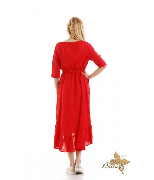 Lininė suknelė N100-1