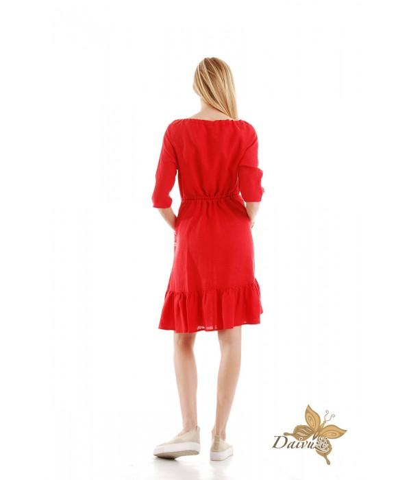 Lininė suknelė N101-1