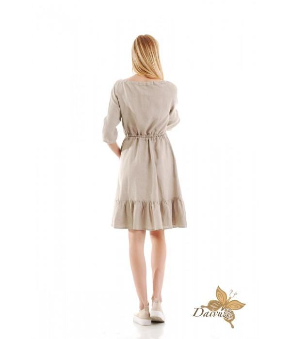 Lininė suknelė N101-3