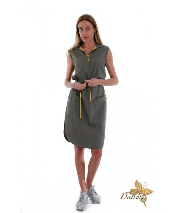 Lininė suknelė D149-4