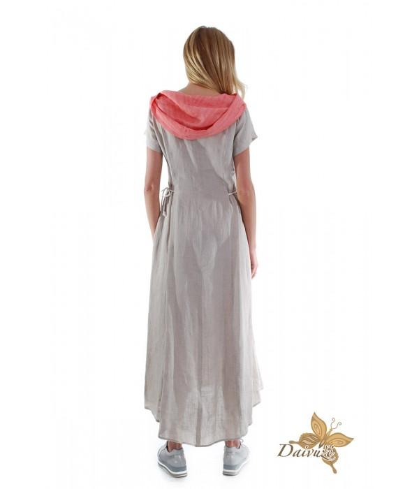 Lininė suknelė DL127-1