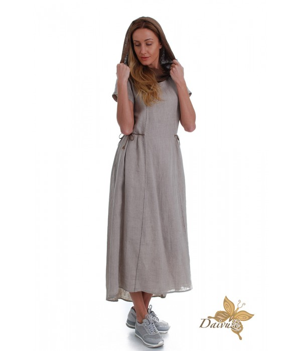 Lininė suknelė DL127-3