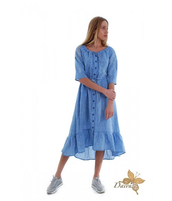 Lininė suknelė N100-2