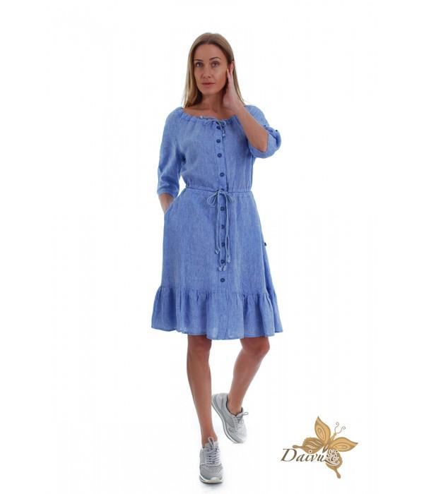 Lininė suknelė N101-2