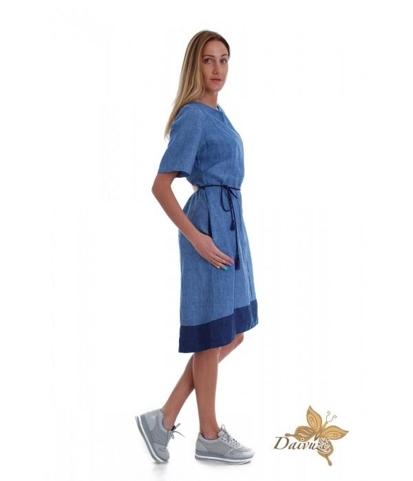 Lininė suknelė Z55