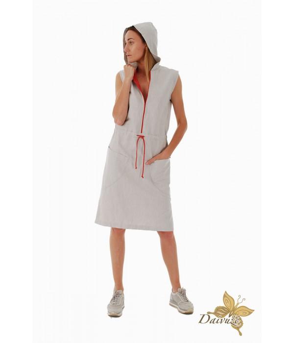Lininė suknelė D149-3