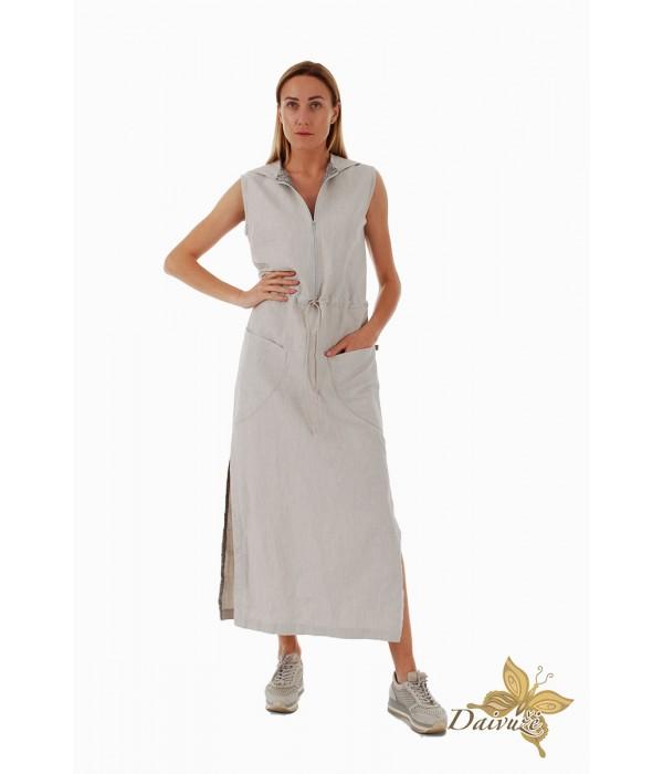 Lininė suknelė D160-1