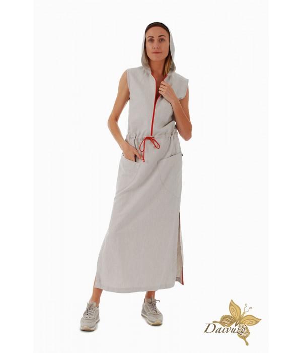 Lininė suknelė D160-2