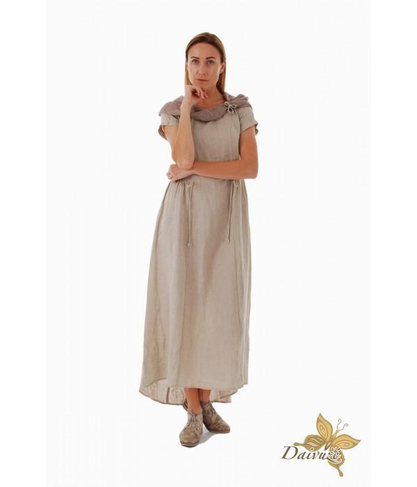 Lininė suknelė DL127-5