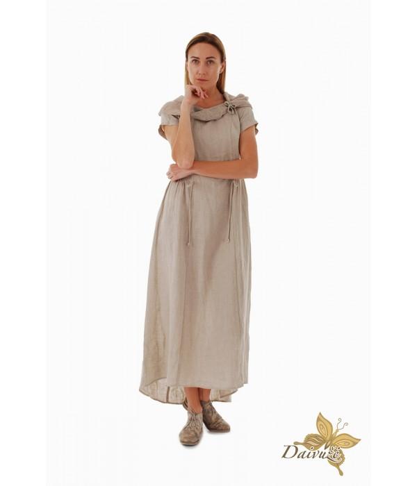 Lininė suknelė DL127-6