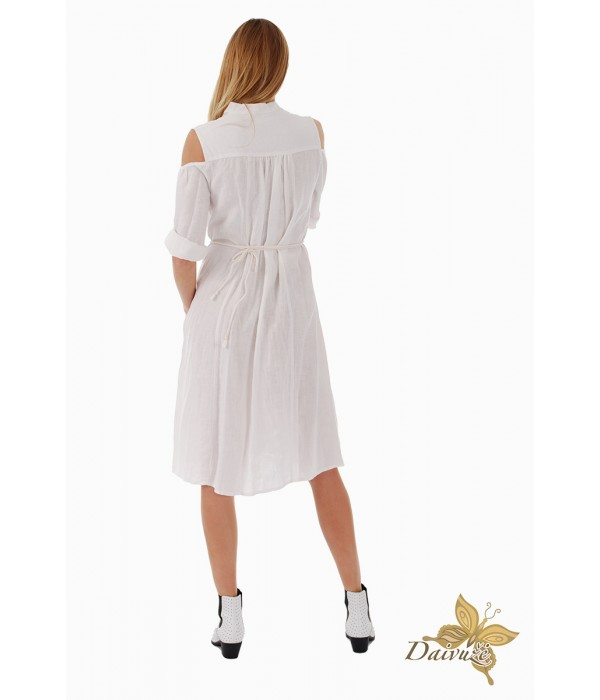 Lininė suknelė Z59-2