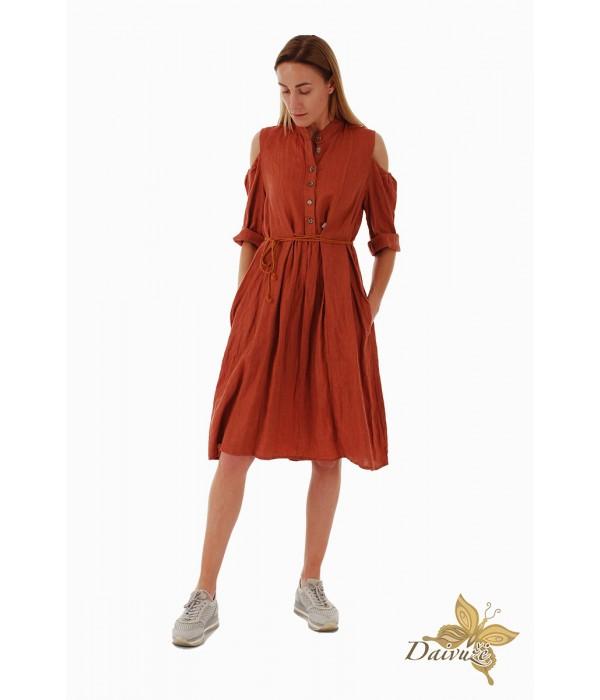 Lininė suknelė Z59-3