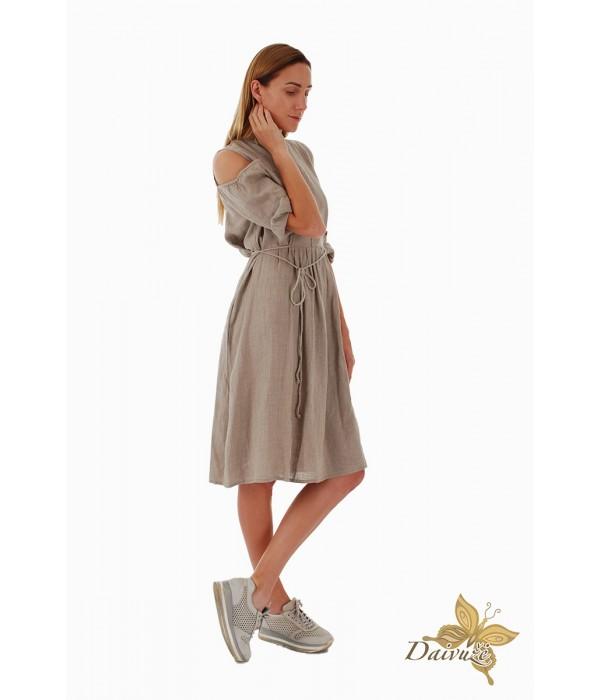 Lininė suknelė Z59-4