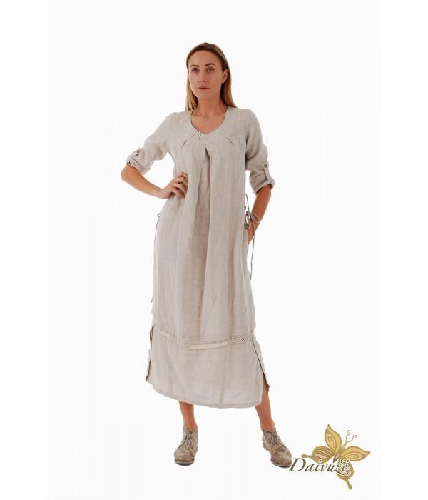 Lininė suknelė Z76-1