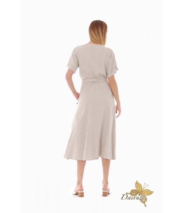 Lininė suknelė Z87-4