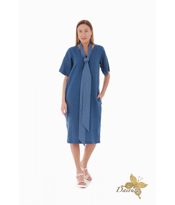 Lininė suknelė Z88-1