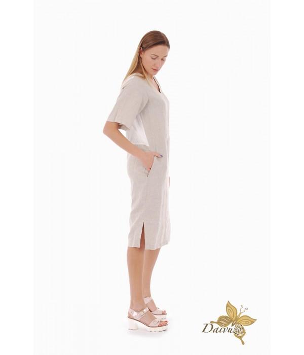 Lininė suknelė Z88-3