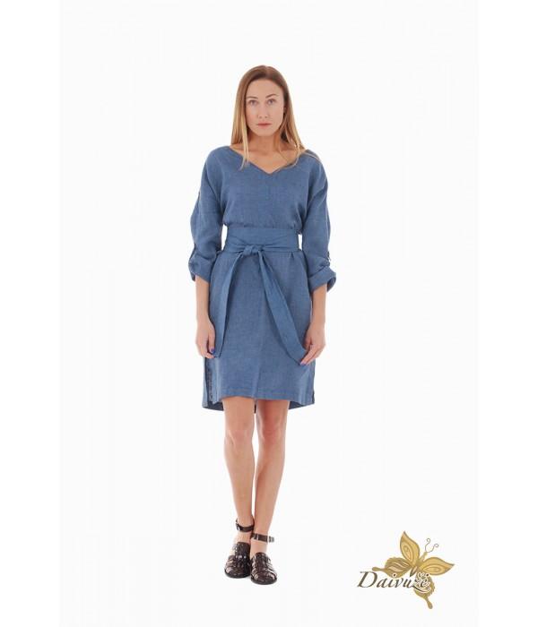 Lininė suknelė ZL83-1