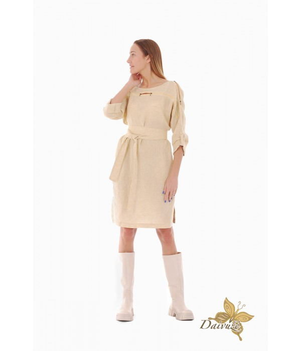 Lininė suknelė ZL83-2