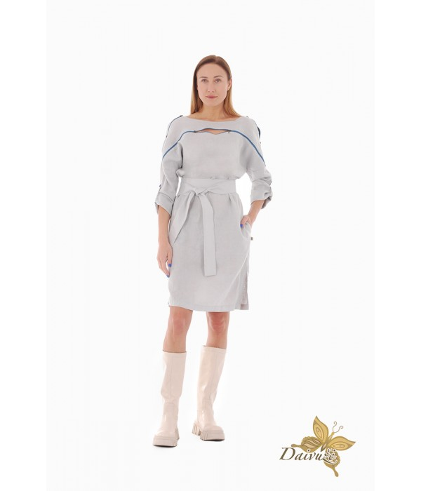 Lininė suknelė ZL83-4