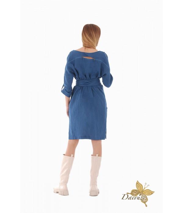 Lininė suknelė ZL83-5